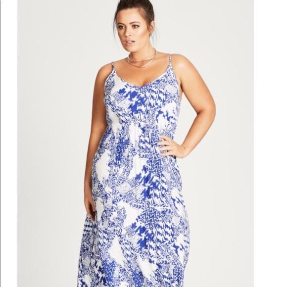 3cc493217d947 City Chic Maxi Dress